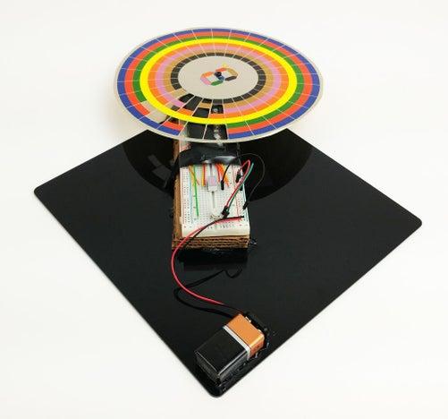 Make-an-Optical-Disk-Display