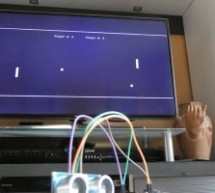 Motion Controlled Pong Video Game