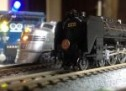 Simple Automated Point to Point Model Railroad Running Two Trains