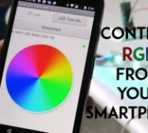 SmartPhone Controlled RGB MOOD Light