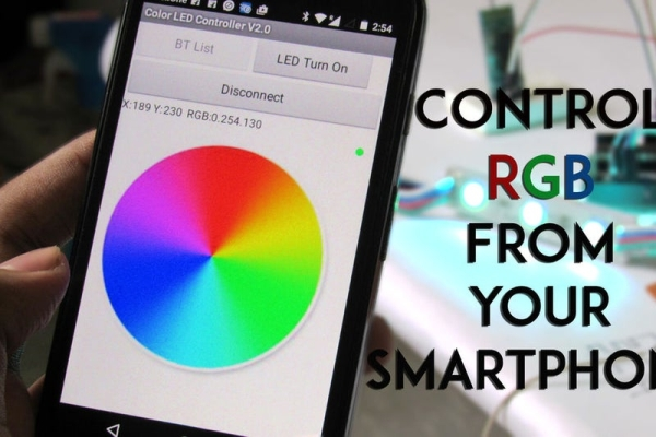 SmartPhone-Controlled-RGB-MOOD-Light
