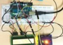 Temp & Humidity Sensor With LCD Disp & LED Indicator