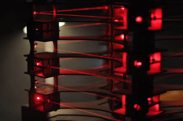 Upright-Laser-Harp