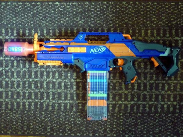 Arduino-for-Nerf-Chronograph-and-Shot-Counter