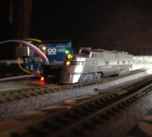 Automated Point to Point Model Railroad With Yard Siding