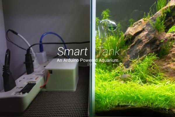 Smart-Tank-Arduino-Powered-Aquarium