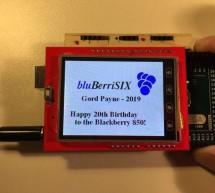 BluBerriSix – a TFT TouchScreen – Arduino Tutorial