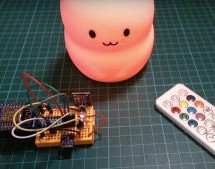 IR HACK TURNS KID'S LAMP INTO TEMP DISPLAY