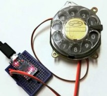 ROTARY DIAL BECOMES USB KEYBOARD