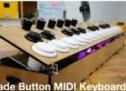 Arcade Button MIDI Keyboard