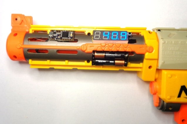 Arduino-for-Nerf-Ballistic-Chronograph