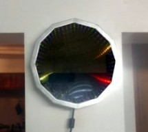 IT'S ABOUT TIME WE SAW ANOTHER INFINITY MIRROR CLOCK