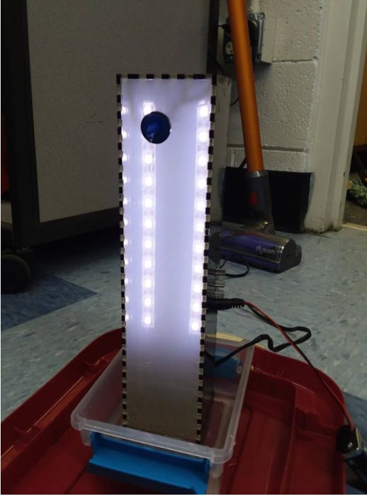 Arduino Powered, Sensor Controlled Fading LED Light Strips