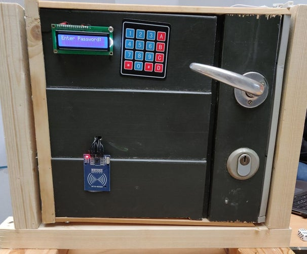 UCL-Embedded - Arduino Door Lock