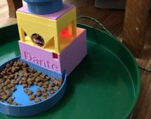 A SIMPLE AUGER PET FEEDER