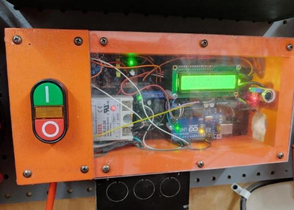 Autonomous-Arduino-air-filtration-system