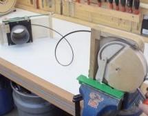 CABLE OPERATED BLAST DOOR NEEDS NO POWER