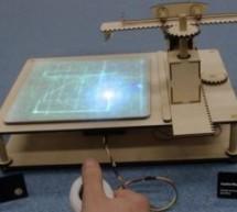 DIY joystick controlled laser drawing machine