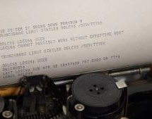 LOGGING INTO LINUX WITH A 1930S TELETYPE