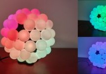 TABLE TENNIS BALL LAMP SERVES UP STYLE