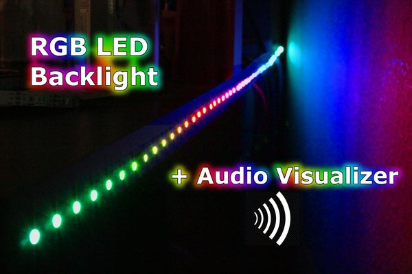 RGB Backlight + MSGEQ7 Audio Visualizer