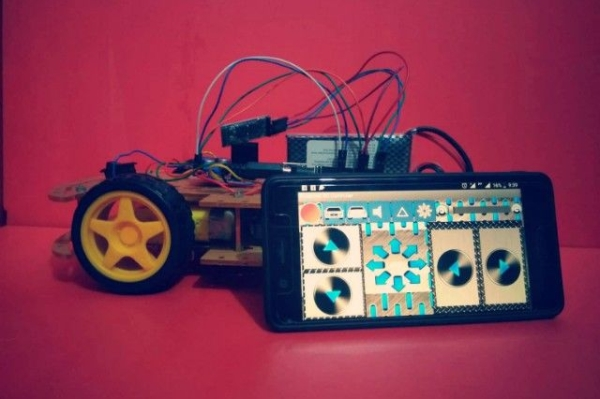 Smartphone Controlled RC Car Using Arduino