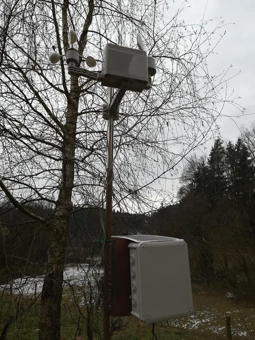 Weather Station With Data Logging