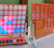 ELECTRONIC CONNECT FOUR HAS NO PIECES TO LOSE