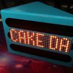 CAKEDAY COUNTDOWN CLOCK IS A SWEET LITTLE SCROLLER