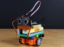 MAYBE ONE OF THE MOST ADORABLE OBSTACLE AVOIDING ROBOTS YOU'VE SEEN