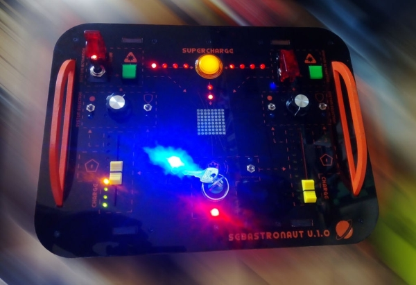 Spaceship Control Panel - Laser Cut Arduino Toy