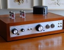 THIS TUBE PREAMP HAS A NIXIE VOLUME DISPLAY
