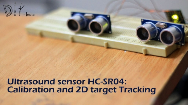 Ultrasound Sensor: 2D Tracking With Arduino