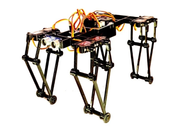 GorillaBot-racing-quadruped-powered-by-Arduino
