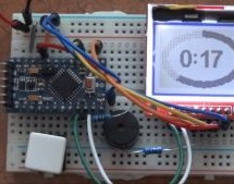 OVER-ENGINEERED SINGLE BUTTON TIMER